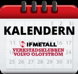 Verkstadsklubbens kalender